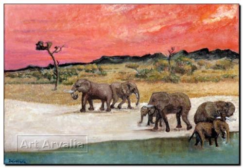 Elefanti d'Africa