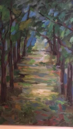 Passeggiata tra gli alberi
