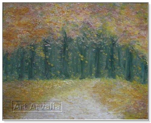 Tappeto d'autunno a Villa Torlonia